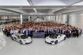 Ξεκίνησε η παραγωγή της McLaren 720S