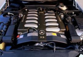 Ο κινητήρας της Mercedes SL73 AMG σταμάτησε να παράγεται