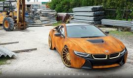 Ένα «σκουριασμένο» BMW i8 (vid)