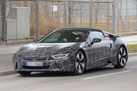 BMW i8 Spyder (Spy Photos)