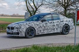 Spy Photos: BMW M5 στο Nurburgring
