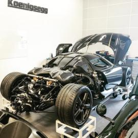 Η Koenigsegg θα κρατήσει την τρακαρισμένη Agera RS Gryphon για demo car της