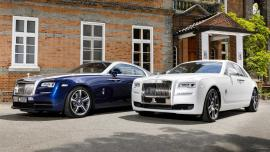 Ειδικές Rolls-Royce Ghost και Wraith για τη Νότια Κορέα
