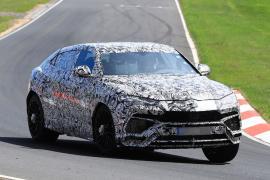 H Lamborghini Urus πάτησε Nurburgring