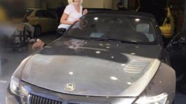 Τζούλια Αλεξανδράτου: Παραλίγο να πάρει φωτιά το αυτοκίνητό της, αξίας 200 χιλιάδων ευρώ!