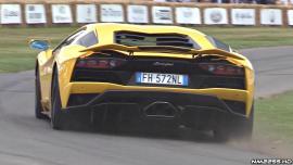 Ακου τον ατμοσφαιρικό εκκωφαντικό ήχος της Aventador S [Vid]