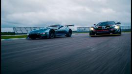 McLaren P1 GTR VS Aston Martin Vulcan! [Vid]