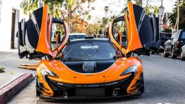 Μία McLaren P1 LM πιάστηκε στους δρόμους του Λονδίνου [Vid]