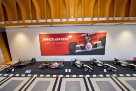 Έκθεμα σε μουσείο μονοθέσια και supercar της McLaren