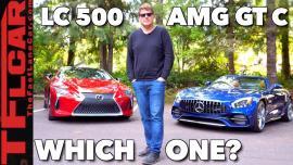 Mercedes-AMG GT C vs Lexus LC 500 [Vid]