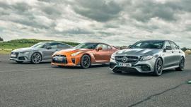 Drag Race: Mercedes-AMG E63 S vs Nissan GT-R vs Audi RS7