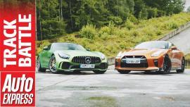 Nissan GT-R vs Mercedes-AMG GT R