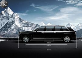 H Klassen αυξάνει το μήκος της Rolls-Royce Cullinan