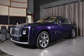 Δες τις λεπτομέρειες της Rolls-Royce Sweptail