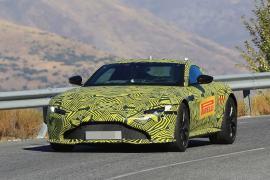 Η Aston Martin συνεχίζει τις δοκιμές της νέας Vantag