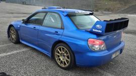 Subaru Impreza 2007 WRC replica καίει λάστιχο