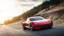 Tesla Roadster, το ταχύτερο αυτοκίνητο του πλανήτη [Vid]