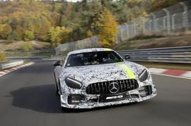 Mercedes-AMG GT R Pro στην έκθεση του Λος Άντζελες