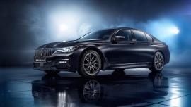 Μαύρη ματ BMW 7 Series Individual Edition Black Ice