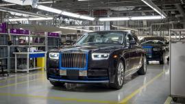 Σε δημοπρασία η πρώτη νέα Rolls-Royce Phantom