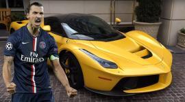 O Zlatan Ibrahimovic πιάστηκε να οδηγεί την κίτρινη LaFerrari του [Vid]