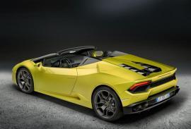 Τι επιδόσεις έχει η πισωκίνητη έκδοση της Lamborghini Huracan Spyder