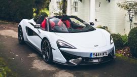 "McLaren  ""Muriwai White"" νέο ""επαναστατικό"" χρώμα"