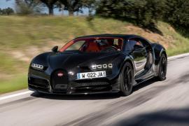 Bugatti Chiron σε μια στριφτερή διαδρομή [Vid]