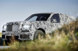 Δεν θα ονομαστεί Cullinan το SUV της Rolls-Royce