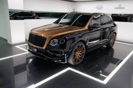 Bentley Bentayga by Startech με χρυσή διχρωμία