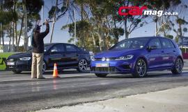 Audi RS3 Sedan Vs Volkswagen Golf R [Vid]