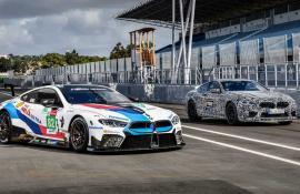 BMW M8 GTE και M8 Prototype στην πίστα του Estoril [Vid]