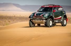 Η Mini παρουσίασε το νέο αγωνιστικό της για το Dakar