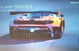 H McLaren ετοιμάζει την 720S GT3