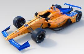 Αυτό είναι το μονοθέσιο της McLaren που θα τρέξει στο Indy 500 [Vid]