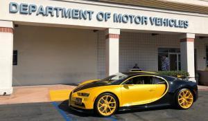 17χρονος έδωσε εξετάσεις για το δίπλωμα οδήγησης με Bugatti Chiron! [Vid]