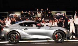 2,1 εκατ. δολάρια πουλήθηκε η πρώτη νέα Toyota Supra