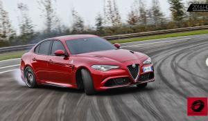 Vettel και Raikkonen ξεζουμίζουν δύο Alfa Romeo Giulia Quadrifoglio [Vid]