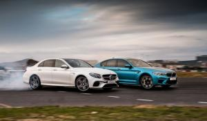 BMW M5 vs Mercedes-AMG E 63 S [Vid]