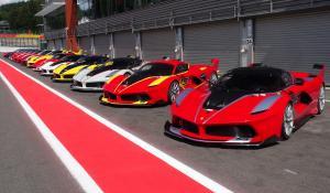 36 αγωνιστικές Ferrari στο Spa, για τα μάτια και τα αυτιά σου μόνο