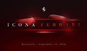 Η Ferrari teasάρει νέο μοντέλο