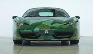 Στο σφυρί η καμουφλαρισμένη Ferrari 458 Italia του Lapo Elkann