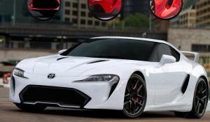 Η νέα Supra ίσως φοράει τον καινούριο V6 της Lexus