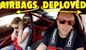 Φασαριόζα Camaro ZL1 ενεργοποιεί τους αερόσακους της