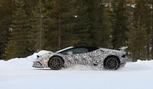 Spy Photos: Lamborghini Huracan Spyder Performante