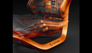 Lexus Kinetic Seat Concept.