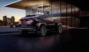 Αποκαλύφθηκε το εσωτερικό του Lexus UC concept.