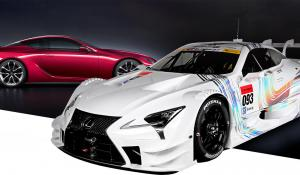 Lexus LC500 GT500 για το πρωτάθλημα Super GT.