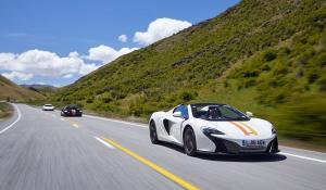 McLaren New Zealand Tour 2016