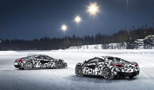 Χειμερινή απόδραση στην Φινλανδία με McLaren 570S Coupe.